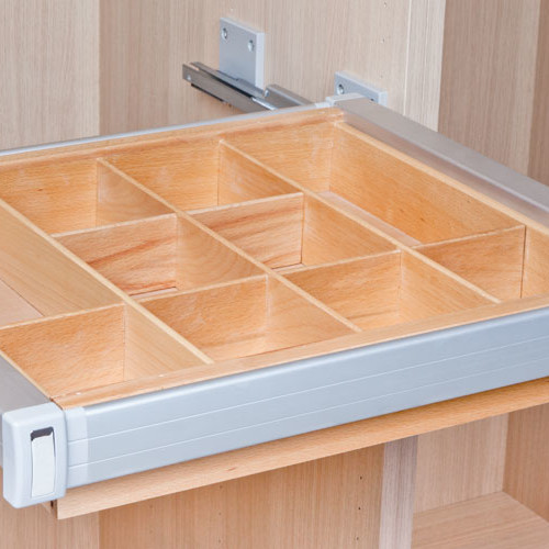 Organizers for drawers and wardrobes