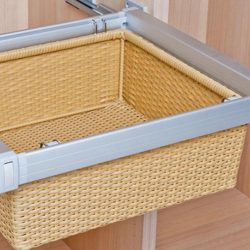 PVC wicker baskets