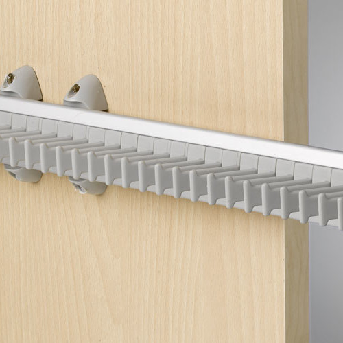 Aluminium tie rack exclusive design