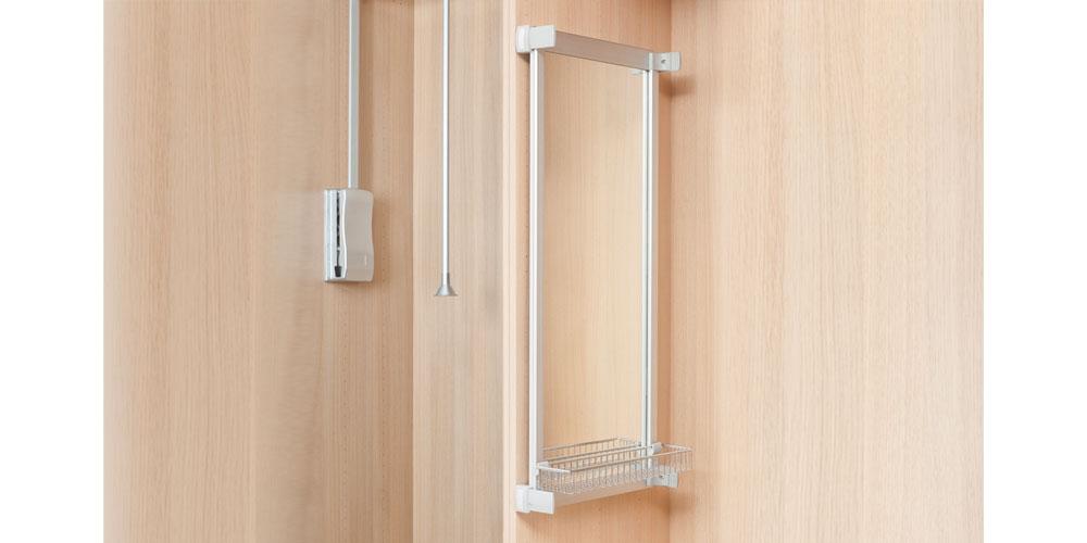Espejos extraíbles para armarios roperos