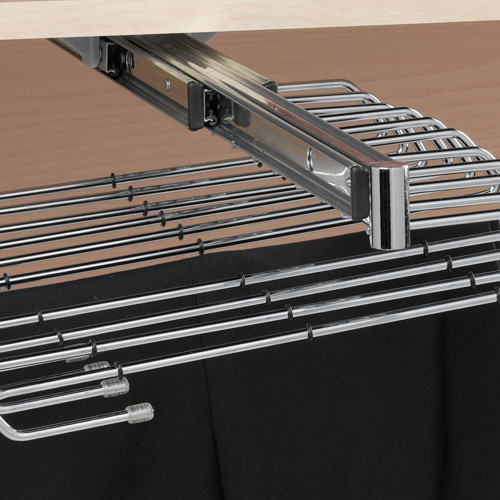 Metalic trouser rack