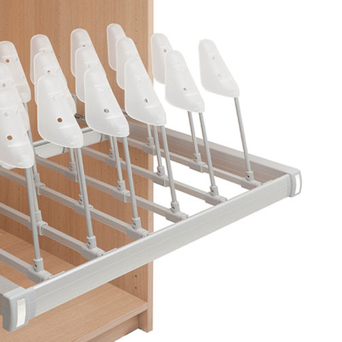 Shoe racks for wardrobes